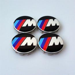 $enCountryForm.capitalKeyWord Canada - 20pcs lot 68mm    M M Logo Hub Cap Cover Emblem sticker Chrome Wheel Center caps auto covers for m3 m5 X1 X3 X5 X6 Center Cap