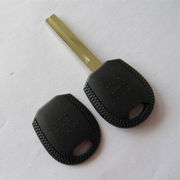 Blank Key Fobs For Replacement NZ - Car replacement transponder chip key shell for KIA transponder key blank case FOB key cover free shipping