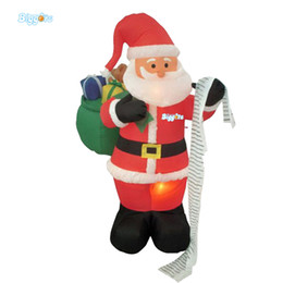 cheap wholesale inflatables UK - Cheap Price Christmas Decorations Inflatable Santa Clause Character