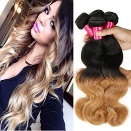 Ombre hair weave sale online ombre hair weave for sale for sale hot sale 1b 27 ombre brazilian body wave human hairwefts ombre extensions 3pcs lot hair virigin weave bundles ombre brazilian hair pmusecretfo Gallery
