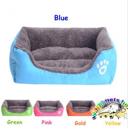 Wholesale W003 Pet products square dog bed for small dogs luxury large dog bed giant stuffed animal bed dog house