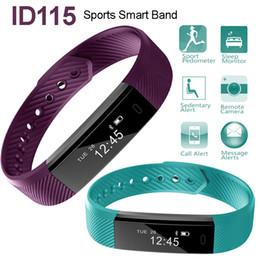 $enCountryForm.capitalKeyWord NZ - Veryfit ID115 Smart Band Bluetooth Bracelet Sports Wristband Pedometer Sleep Monitor Wearable Device Fitness Tracker for iPhone Samsung LG