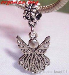 Guardian anGel jewelry online shopping - MIC Guardian Angel Charm Bead for Antique Silver European Style Charm Pendant x mm DIY Jewelry