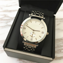 Precio Tops Baratos-Top Brand High-Grade Lady Watches Hombres correa de acero de cuarzo Amante reloj Business Dress reloj Lmitation Conch plegable hebilla Precio al por mayor