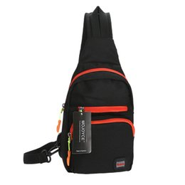 Discount tablet sling - Wholesale- Cycling Chest Bag Pack Sports Crossbody Shoulder Bag Student Small Trip Tablet Computer Travellingbag Messeng