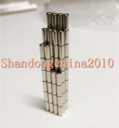 $enCountryForm.capitalKeyWord Australia - Wholesale - In Stock 100pcs Strong Round NdFeB Magnets Dia 3x5mm N35 Rare Earth Neodymium Permanent Craft DIY Magnet Free shipping