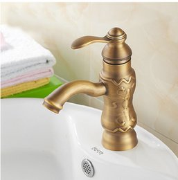$enCountryForm.capitalKeyWord Australia - Wholesale and retail free shipping Copper basin faucet Kitchen & bathroom faucet Single hole of cold faucet Carved furniture Carved faucet