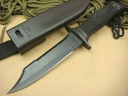 Knife for sale !! Bayonet bowie knife tactical Knives Fixed Blade Camping Hunting Survival Knife ABS HANDLE from buck 55 knife manufacturers