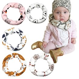 $enCountryForm.capitalKeyWord Canada - PrettyBaby baby Scarves 7 models ring unisex fashion Ring one circle 45cm cotton cartoon printed style free shipping