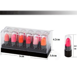 $enCountryForm.capitalKeyWord Canada - Mini lipstick 12colors a set, makup lipstick one set sale lady skin gift promotion FTS-33