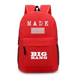 Kids designer bacKpacKs online shopping - Made bigbang backpacks school bags  boys girls hign school designer f91c679cd4057