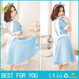 Wholesale Lolita Princess Apron Dress Maid Outfits Meidofuku Uniform Cosplay Costume