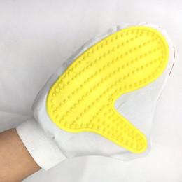 $enCountryForm.capitalKeyWord Canada - Pet Grooming Glove Double Sided Mitt Brush Gentile Hair Removal Massage