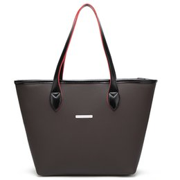 $enCountryForm.capitalKeyWord Canada - women Black Causual large bucket shoulder bag female high quality artificial leather tote bag fashion top-handle bag