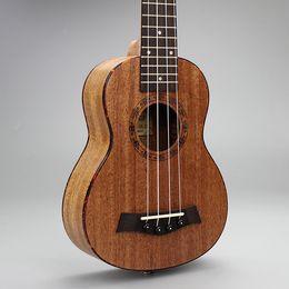 """Mahogany Musical Instruments Canada - 21-5 21"""" Ukulele Mahogany Acoustic guitar Rosewood Fretboard 4-strings guitarra musical instruments Wholesale"""