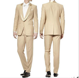 $enCountryForm.capitalKeyWord UK - The new design the groom tuxedo two-piece single row a button luxury men suit new designs men suit(Jacket+Pants)