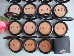 $enCountryForm.capitalKeyWord NZ - New Foundation Brand Make-up Studio Fix Powder Cake Easy to Wear Face Powder Blot Pressed Powder Sun Block Foundation 15g NC & NW Free DHL