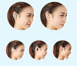 Discount wireless headphones dhl - DHL free shipping Mini Style Wireless Bluetooth Headphone S530 In-Ear V4.0 Stealth Earphone Phone Headset Universal for