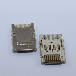 China Wholesale-3PCS SIM Micro SD Memory TF Card Tray Reader Slot Holder Socket For LG G3 D850 D851 D855 D857 D858 D859 Free Shipping supplier micro sim sd card holder suppliers