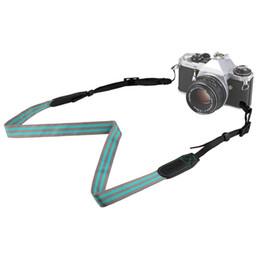 $enCountryForm.capitalKeyWord Australia - New Mirrorless Camera Shoulder Neck Belt Strap for Canon Sony Nikon Gray + Green
