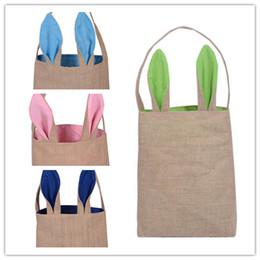 $enCountryForm.capitalKeyWord UK - Christmas Rabbit Gift Handbag Halloween Candy Jute Bags Festival Easter Canvas Bag Christmas Decor Gift Package Handbag HK 002