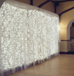 flash NZ - Christmas Outdoor Waterproof Wedding Ceremony Stage Light 4M * 3M400LED Background Curtain Light Hotel Decoration Lights Star Flash String