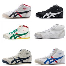 Asics running shoes for womAn online shopping - New Colors Asics Tiger Running Shoes For Women Men Comfortable Zapatillas High top Athletic Outdoor Sport Sneakers Eur