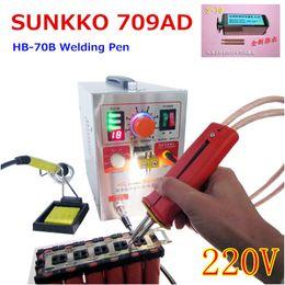 $enCountryForm.capitalKeyWord Canada - (709A Updated ) 1.5KW 709AD high-power Battery digital display mobile soldering Spot Welder with Welding pen (HB-70B) 220V 110V