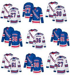 ... 2018 AD 36 Mats Zuccarello Jersey New York Rangers Hockey Jerseys 61  Rick Nash 30 Henrik Rangers 27 Ryan McDonagh ... d6d7b4951