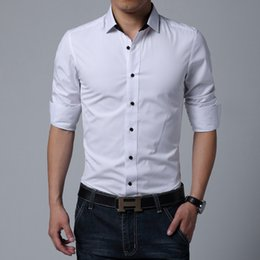 Discount Black Cufflink Shirt Men | 2017 Black Cufflink Shirt For ...