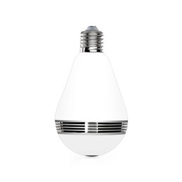 Chinese  The newest HD 1.3MP 360 degree infrared night vision panoramic bulb camera with 3 pcs IR leds manufacturers
