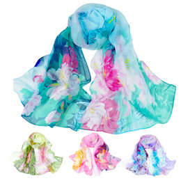Chinese wrap sCarf online shopping - Fashion Chinese style Scarves Lady tenis feminino Long Wrap Women s Shawl Chiffon Scarf Comfortable Breathable g7