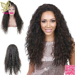 $enCountryForm.capitalKeyWord NZ - Brazilian Virgin Human Hair Lace Front Wigs Loose Curly Glueless Full Lace Human Hair Wig Curls With Bleached Knots Baby Hair