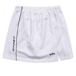 Discount xl girls clothes - Wholesale- Promotion Women Tennis Skort Badminton Sports Clothes Training Running Skirt Solid for Girls with Safety Pant