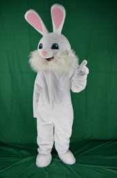 Costume Adulte Pas Cher-Professional Easter Bugs Bunny Mascot Costumes Bugs Rabbit Hare Adult Fancy Dress Costume de bande dessinée