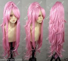 $enCountryForm.capitalKeyWord Canada - 100%Free shipping New High Quality Fashion Picture Indian Mongolian wigs>>New Cosplay party COS vocaloid Camellia Luka split type wig