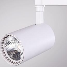 hot rails 2019 - Hot selling Ceilign lamp LED Track light indoor lighting commercial LED downlight Tracking lamp Store supermarket LED Ra