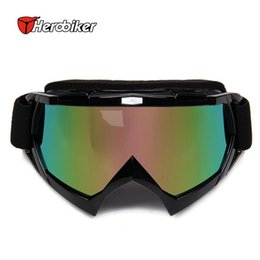 $enCountryForm.capitalKeyWord Canada - NEW 10PCS DHL Free shipping HEROBIKER cross-country motorcycle goggles dustproof goggles color double-sided velvet with thick elastic