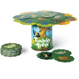 Animal Bat Toys UK - Blue Orange Games Tumble Trees Cheetah, bats, snakes, monkeys and other animal cards Ride on the trunk Keep the balance of the card tree