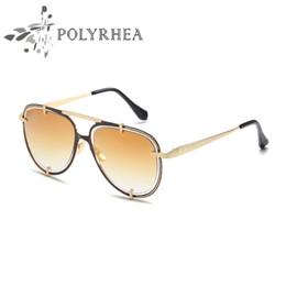 $enCountryForm.capitalKeyWord Canada - High Quality Classic Sunglasses Designer Brand Mens Womens Sun Glasses Double Circle Frames Gradient UV400 Lenses Box and Cases