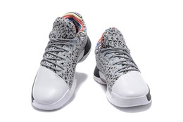 Barato Moda De Látex-2017 Harden Vol. 1 BHM Black History Month Mens Basketball Shoes Moda James Harden Shoes Outdoor Sports Training Sneakers Tamanho 40-46