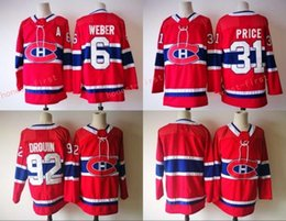 ... 2017-2018 New season Stitched Montreal Canadiens 6 Shea Weber 31 Carey  Price 92 Jonathan ... 6d95adf36