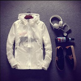 $enCountryForm.capitalKeyWord NZ - 2017 super thin hooded outdoor coat anti sunshine quick dry jacket waterproof cardigan zippered Men sweatshirt free shipping