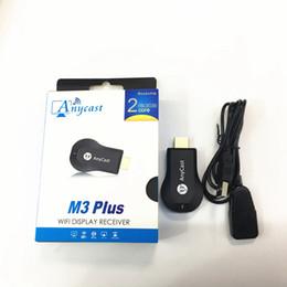 Push bao AnyCast M3Plus inalámbrico hd HDMI y proyector de pantalla Proyección de TV RK3036 Dual-core WiFi Display TV Dongle Receiv
