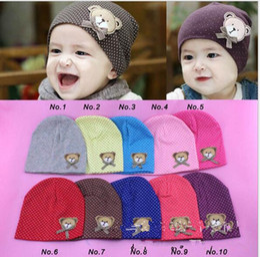 dc72b0cb509790 Toddler Newborn Baby Warm Winter Hats Crochet Cute Bear Kids Children  Cotton Infant Beanie Hats Boys Girls Caps Hot Sales for Christmas Gift