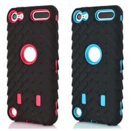 Шины шины Vroom жесткий PC пластик + мягкий гибридный слой чехол для Ipod Touch 6 6G 6-й 5-й Ipod6 Ipod5 двойной цвет автомобиля шин противоударный кожи