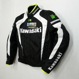 nuevo estilo kawasaki transpirable Running chaquetas / chaquetas de moto / chaquetas de carrera / caballero off-road chaquetas / ropa de la motocicleta a prueba de viento k-4 en venta