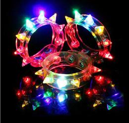 $enCountryForm.capitalKeyWord Canada - 100pcs New Arrival Multi colors night glow stick flashing bracelet light sticks festival items DIY led party kids toy