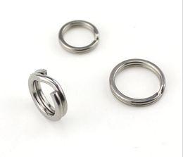 $enCountryForm.capitalKeyWord Canada - Fishing Lure Ring Dual rings Stainless Steel Split Rings for Lures Crank bait Hard Bait Fishing Ring Bass Walleye Fishing tackles Free shipp
