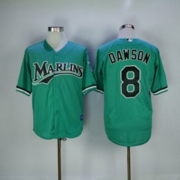 51dde79f7bb ... 2017 mitchell and ness 1995 miami marlins 8 andre dawson green  throwback mesh bp jerseys stitched